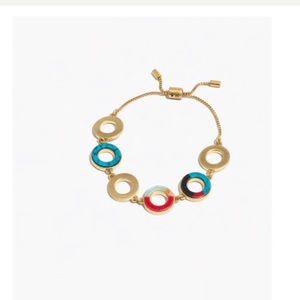 Madewell desert sunset circle bracelet